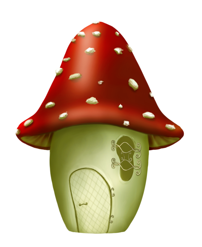 fairy homes pinterest. Mushrooms clipart sweet home