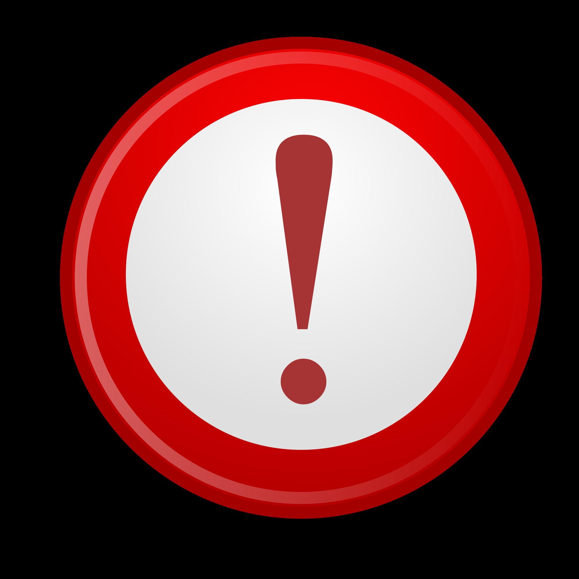 Important clipart explanation mark. File gnome emblem svg