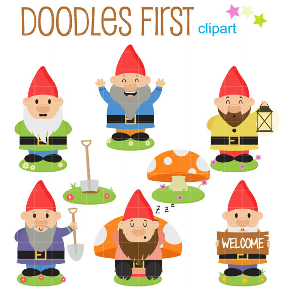 Pin by paula backs. Gnome clipart simple garden