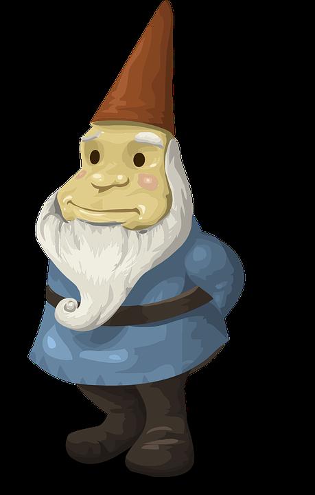 Gnome clipart simple garden. Gnomes group dwarfs