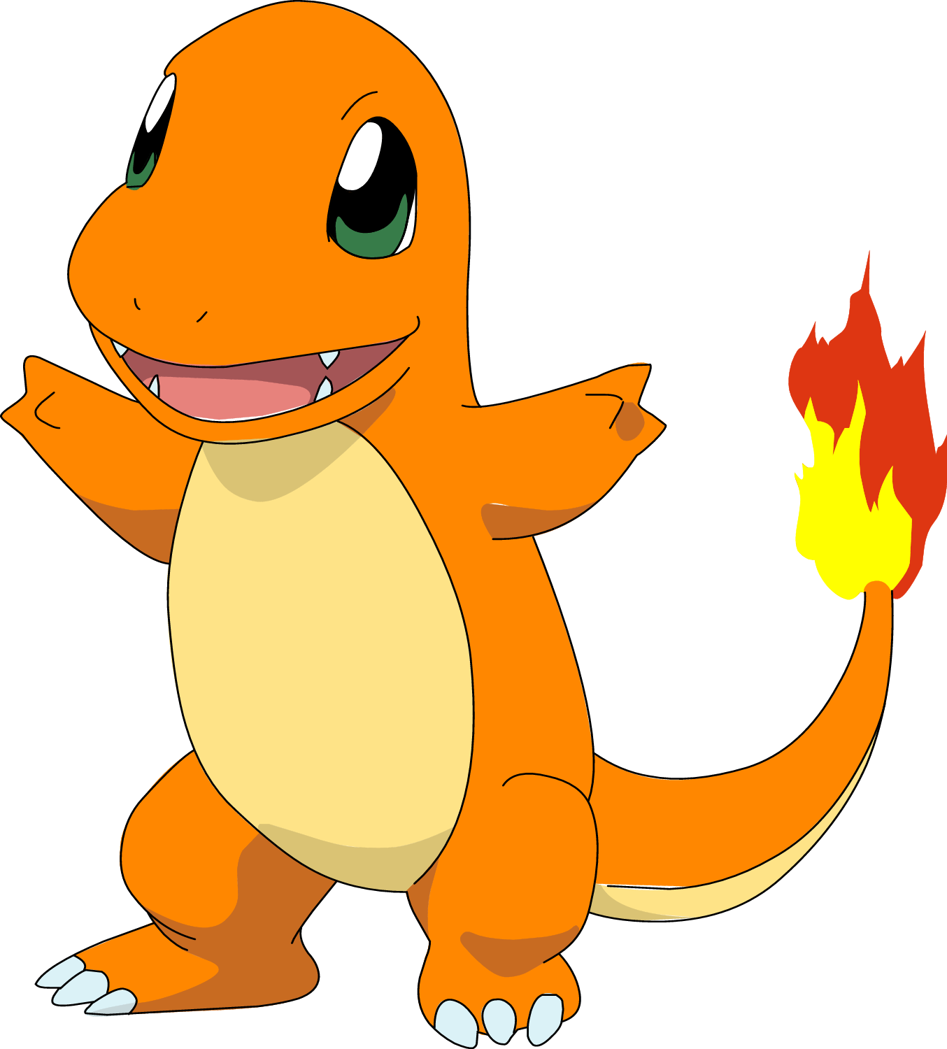 Charmander go jokingart com. Pokeball clipart face pokemon