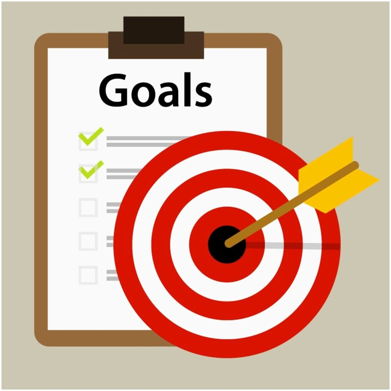 Reaching goals awesome stairs. Goal clipart