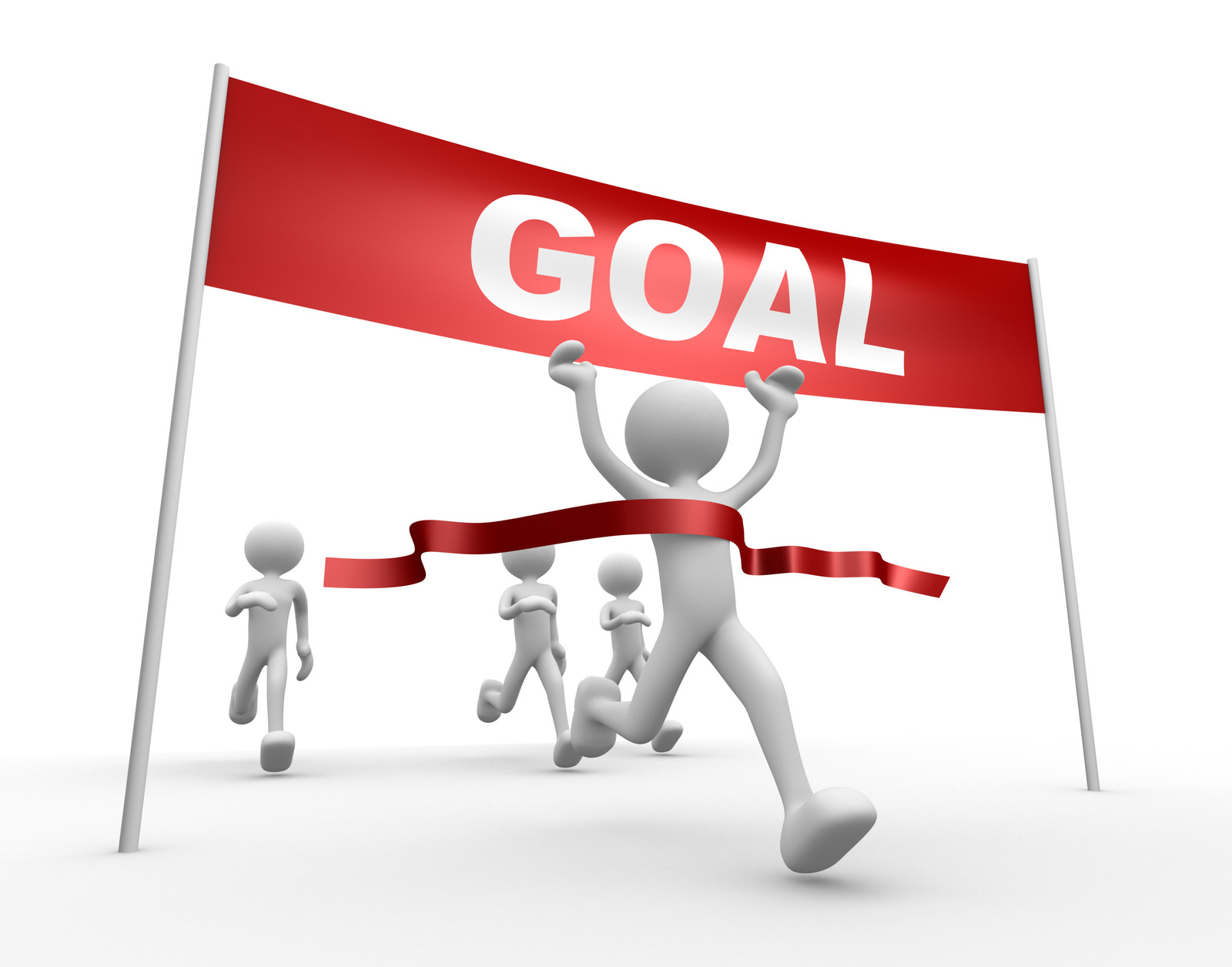 Meeting goals . Goal clipart