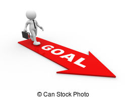 Goal Setting Goals Clipart Black And White - Achieving Goals Clipart - Png  Download (#5283692) - PinClipart