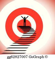 Motivation clipart goal target. Goals clip art royalty