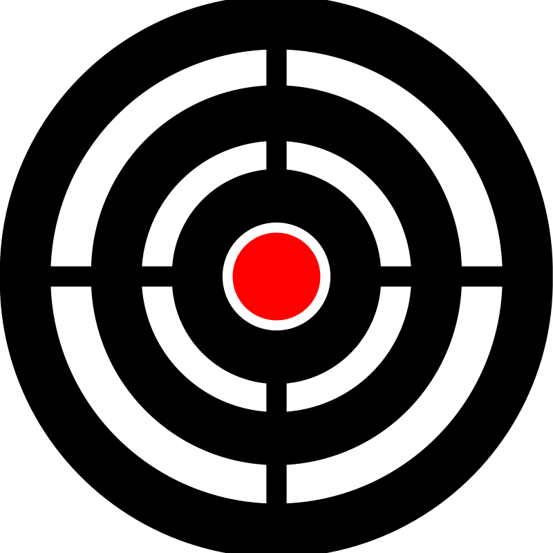 Goal clipart aims. Aim panda free images