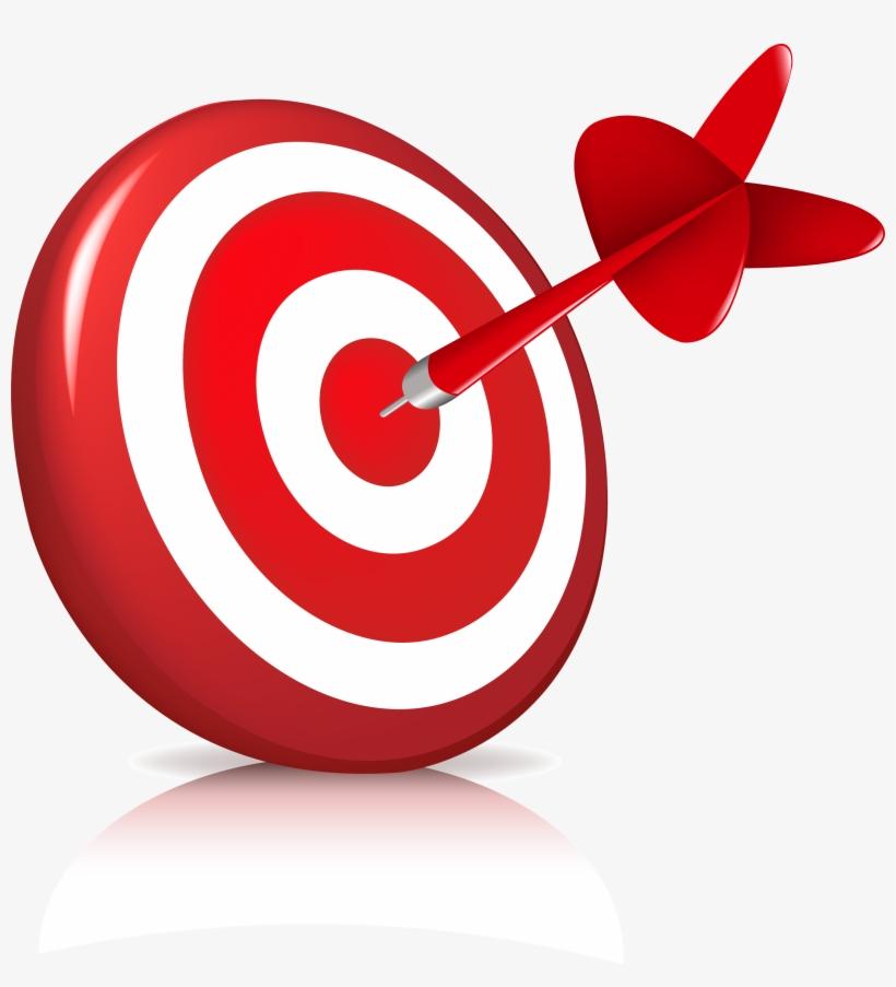 Goal clipart aims. Focus aim objective goals