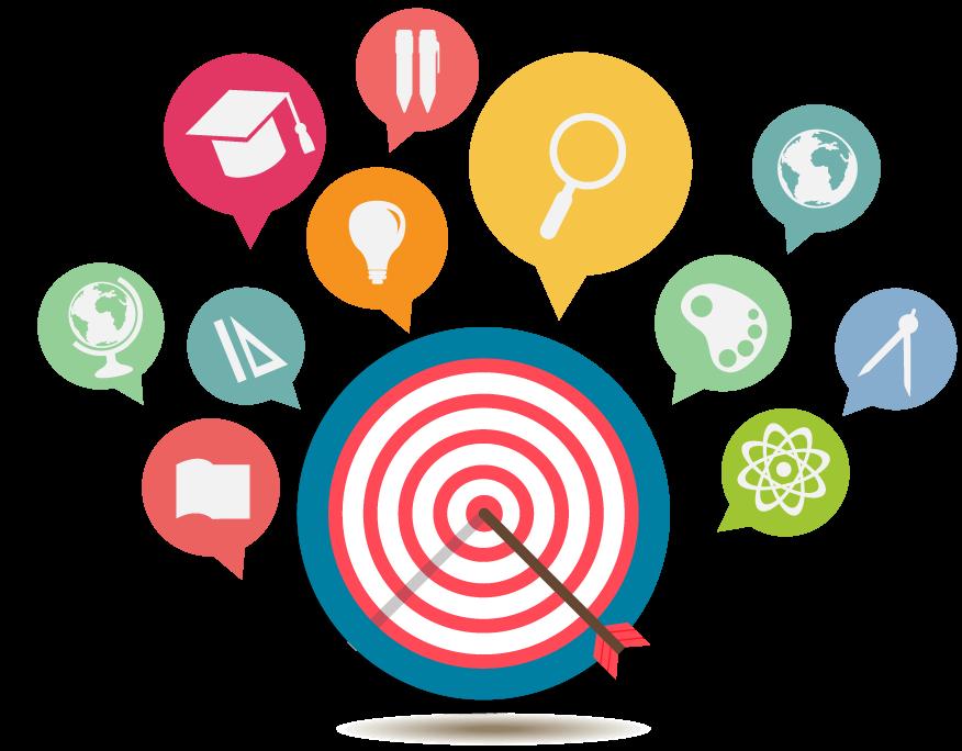 Goal clipart aims. Objectives kingsway nursery website