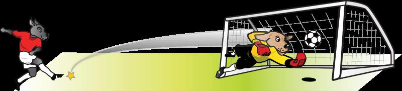 Goals clipart cartoon. Free goal cliparts download