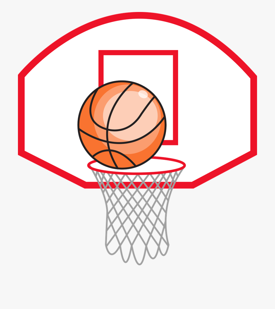 Goal clipart basket ball. Basketball at getdrawings