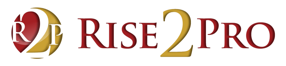 Setting risepro logo. Motivation clipart smart goal