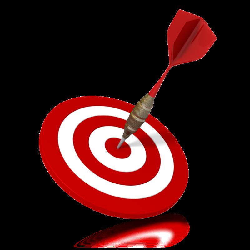 Goal bullseye