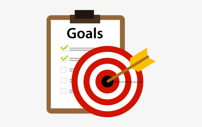 Png icon free transparent. Goals clipart business goal