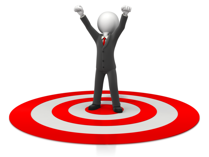 Recruiter tips how successful. Motivation clipart goal target