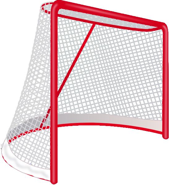 Hockey goal clip art. Goals clipart medium