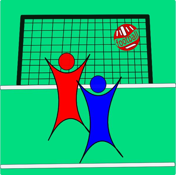 Football soccers clip art. Goals clipart medium