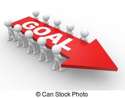 Goal clipart goal achieved. Portal