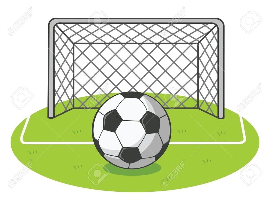 Goal clipart goal line. Download soccer football clip