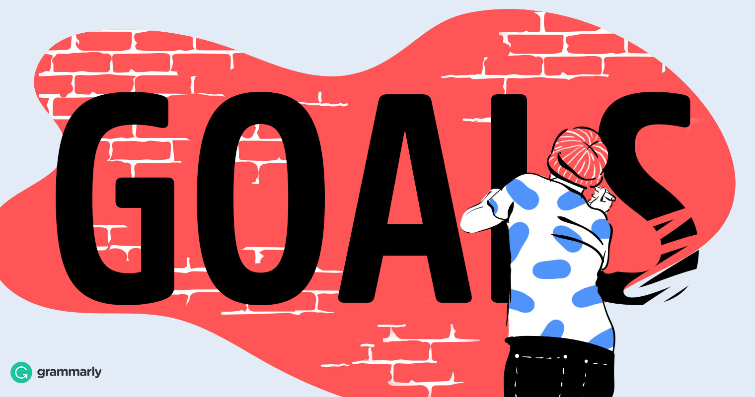 Goal clipart goal met.  words you should