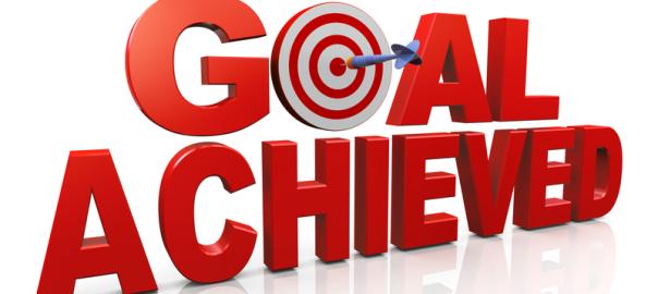 Goal clipart goal met.  the sara sloan