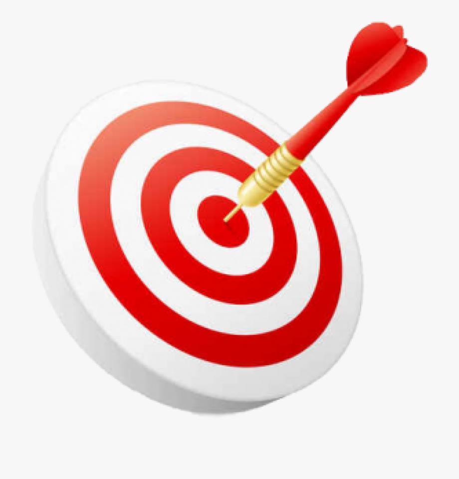 Goals clipart arrow. Goal sale hitting target