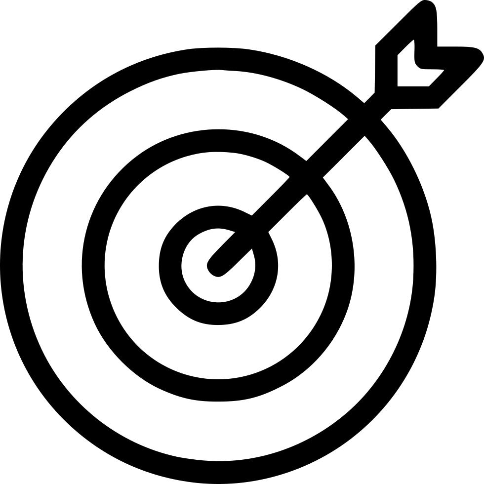 Aim seo marketing svg. Goal clipart goal target