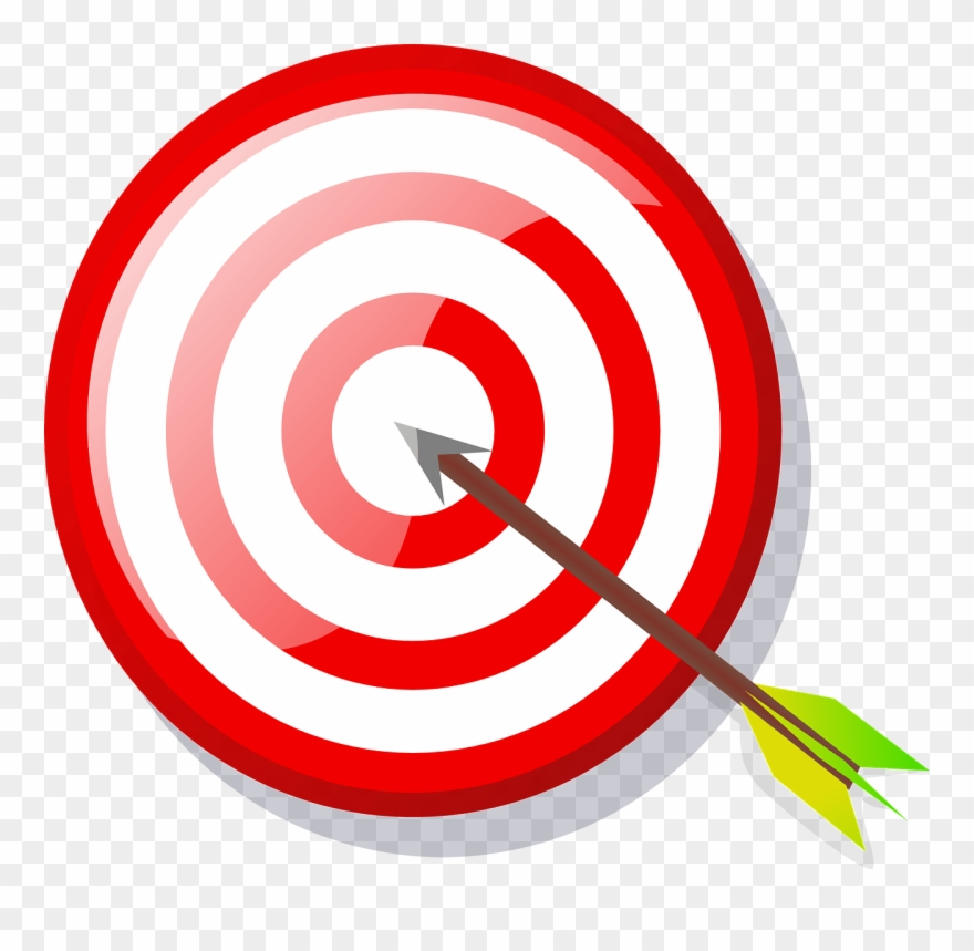 Goals clipart goal target. Clip art png download
