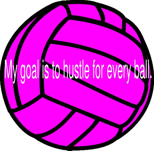 Volleyball clip art at. Goals clipart medium