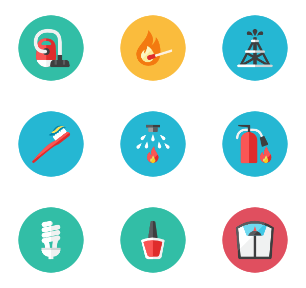 Objective icons free vector. Goals clipart professional