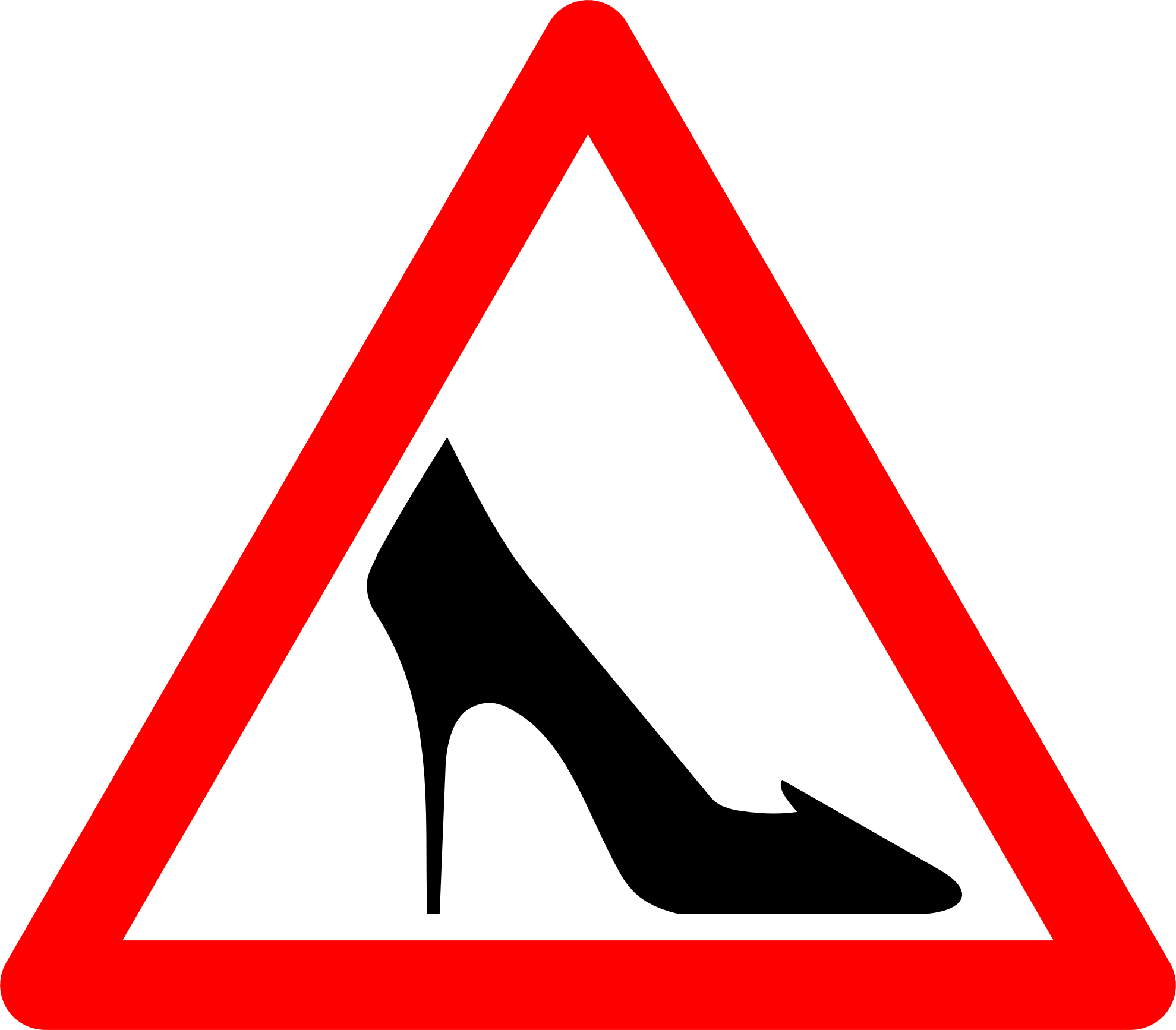 Signs clip art shoe. Goals clipart road ahead