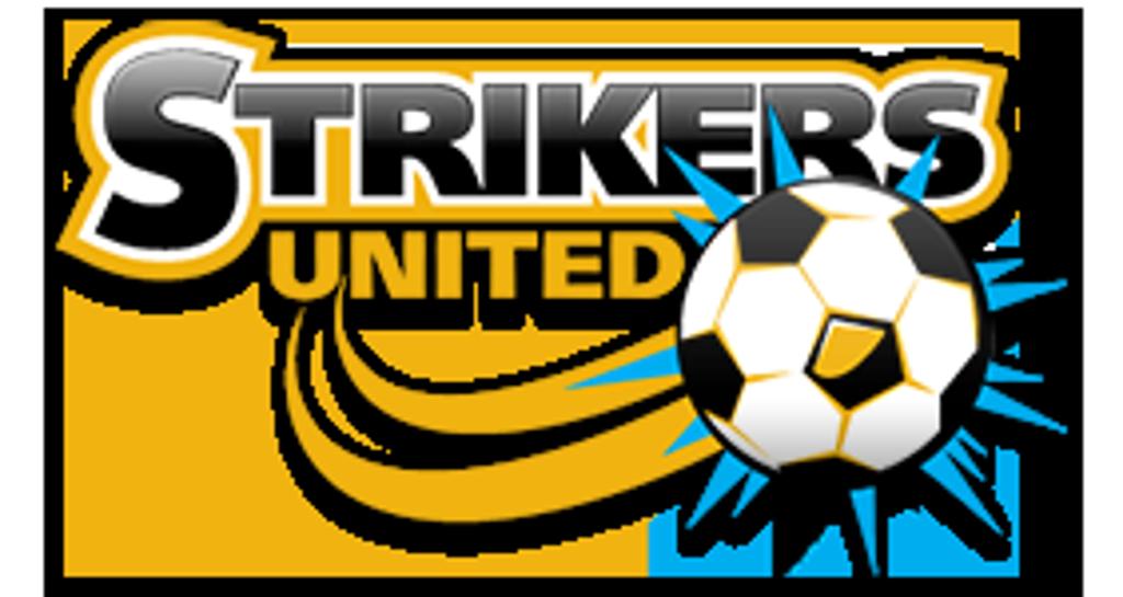 Goals clipart soccer striker. Strikers united