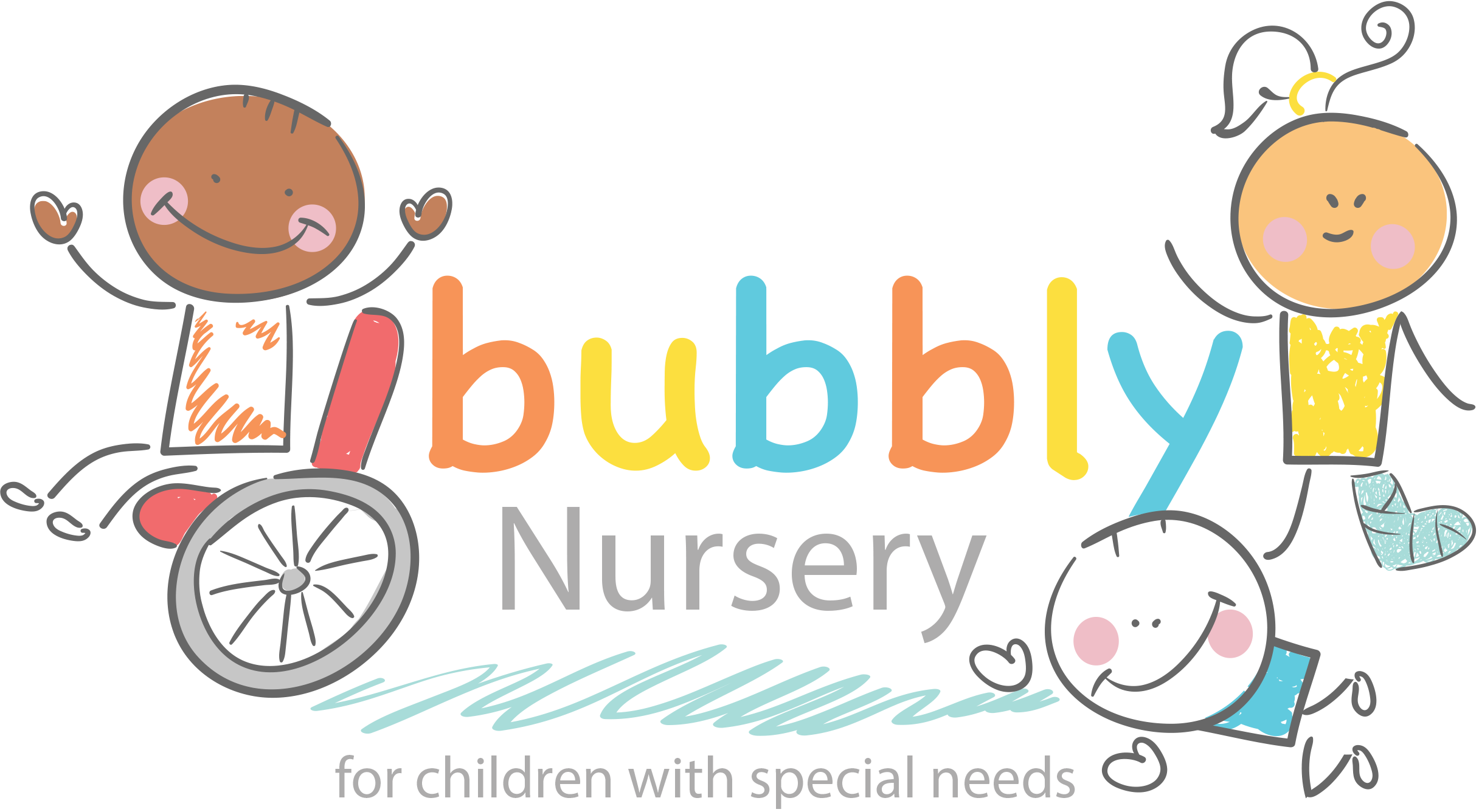 About us bubbly special. Nursery clipart language development