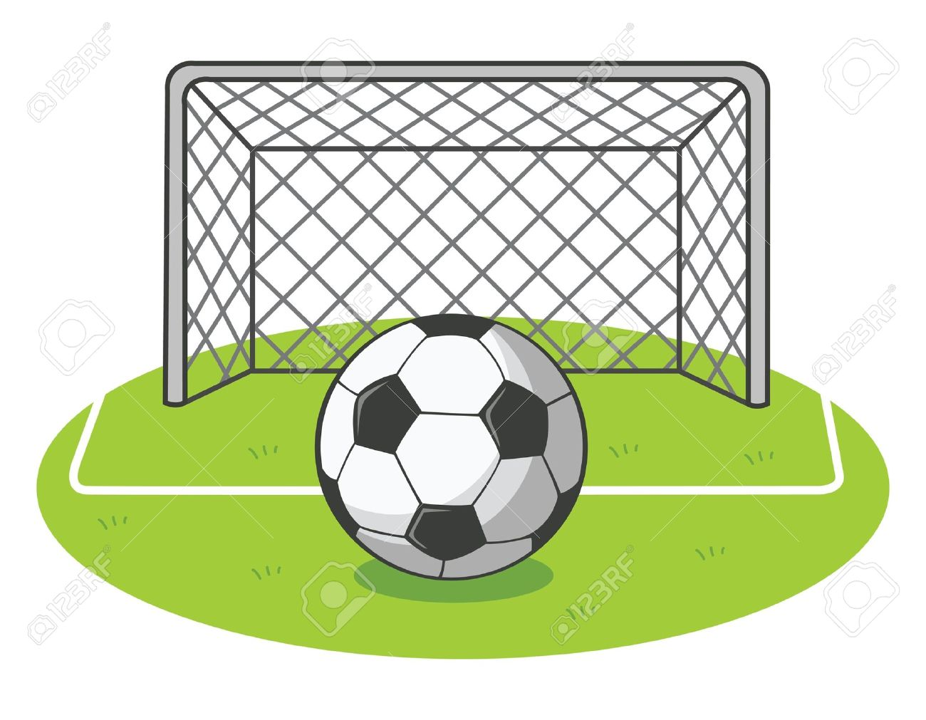 Field free download best. Goal clipart sport