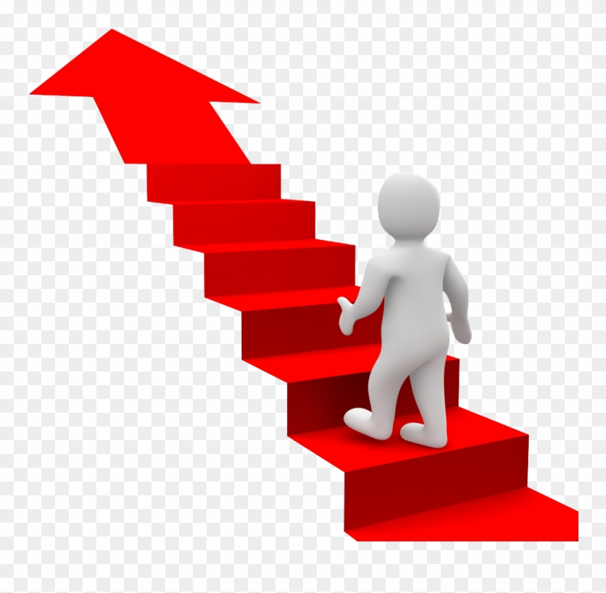 Staircase clipart success. Goal stair stairs for