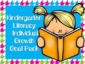 Kindergarten literacy individual goal. Goals clipart student growth