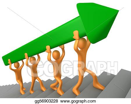 Stock illustration clip art. Goal clipart team goal