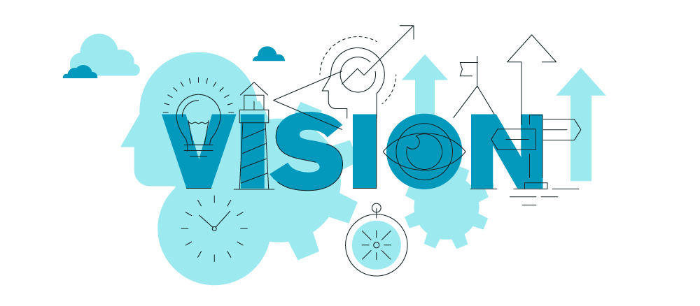 Missions clipart common goal. Mission vision page oak