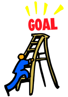 Ladder clipart goal. Free meeting goals cliparts