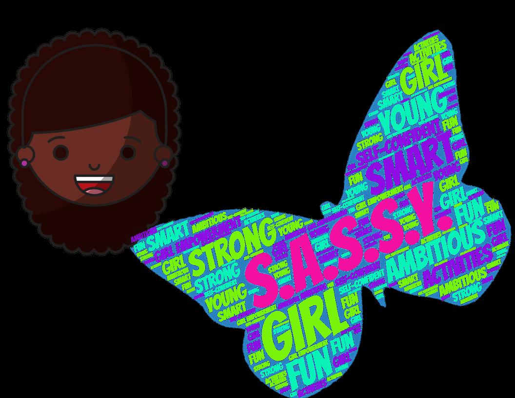 Goals clipart ambitious. Girl programs golden leaf