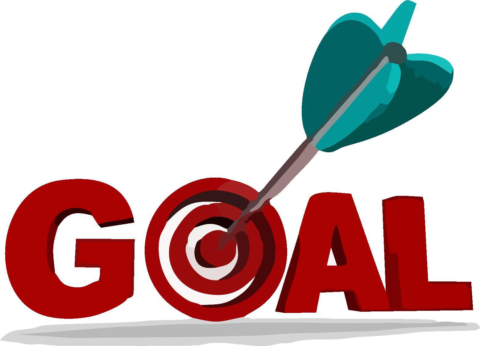 Setting action plan coaching. Goals clipart goal target