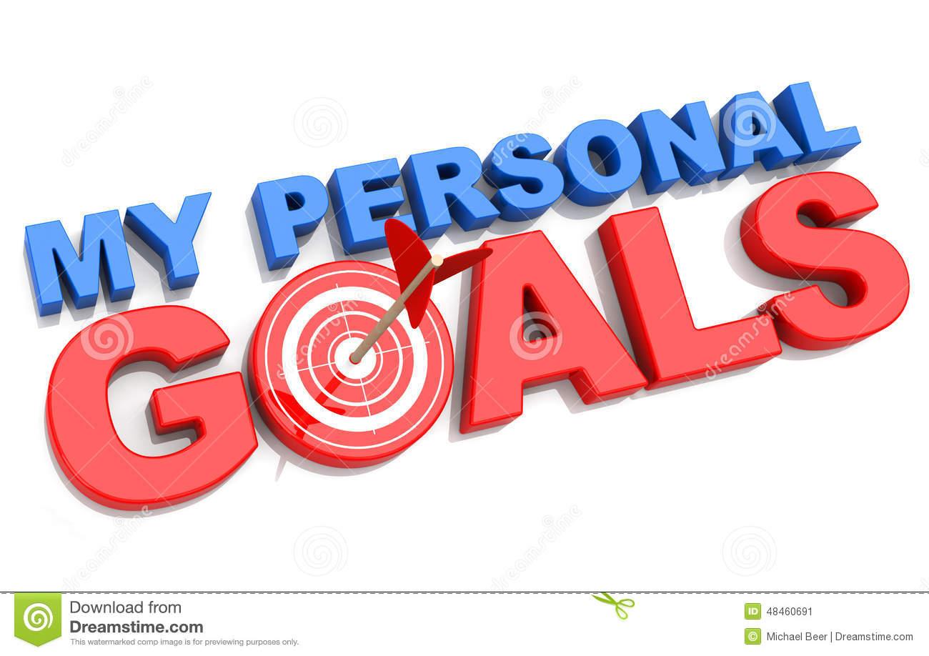 . Goals clipart personal goal