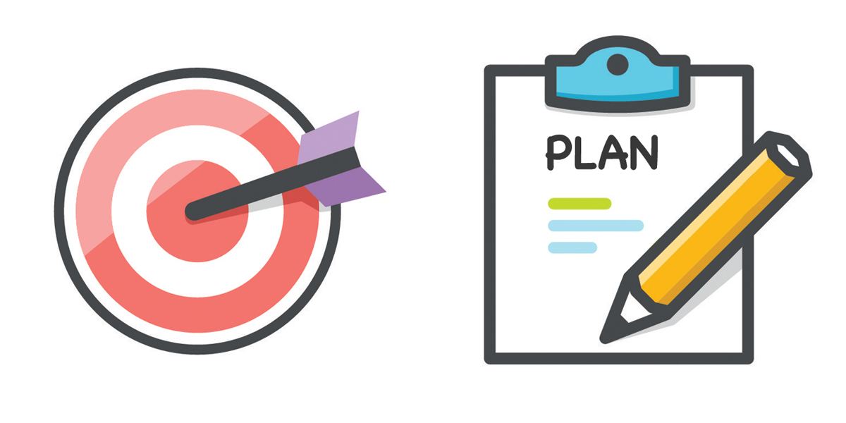 Goals and plans the. Plan clipart strategic goal