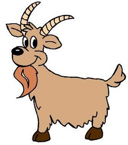 Goat clipart. Free
