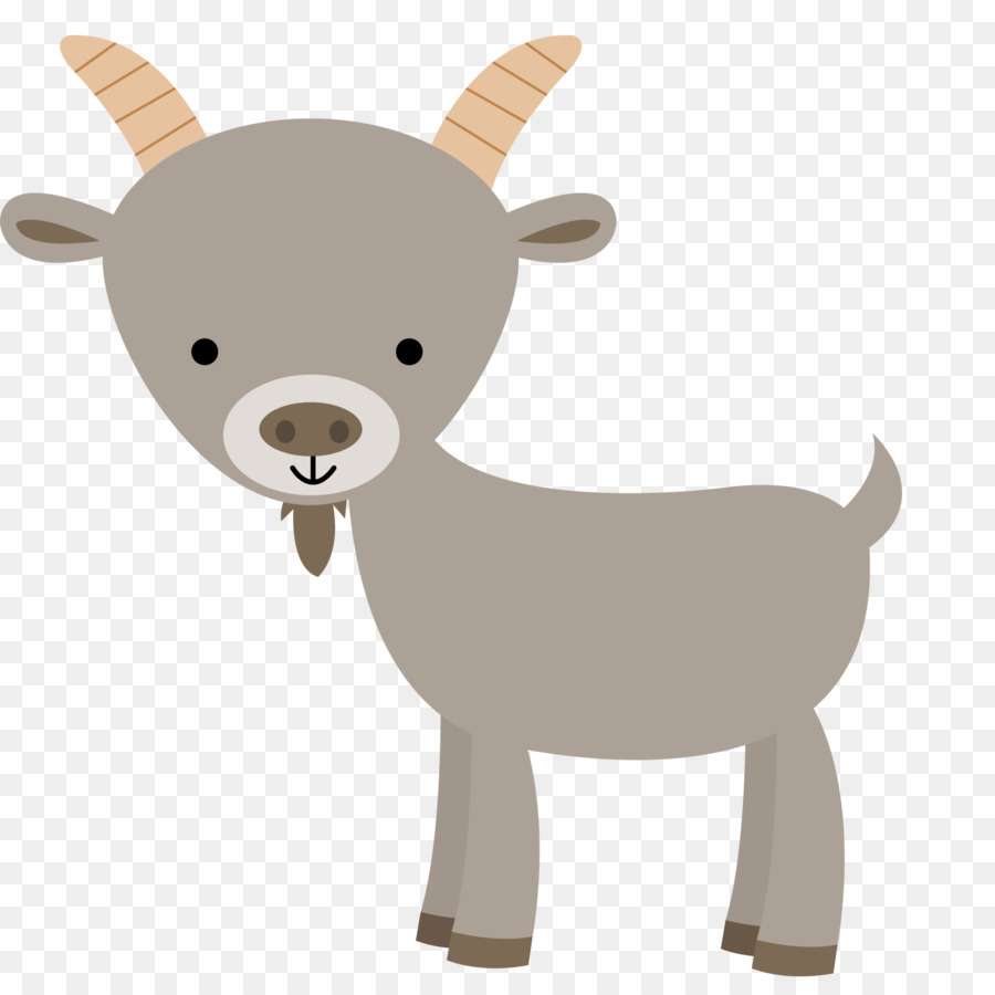 Sheep cartoon deer transparent. Goat clipart baby goat