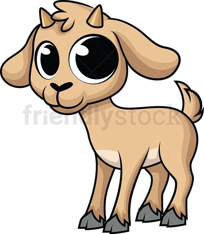 Goat clipart baby goat. Cute tshirts cartoon goats