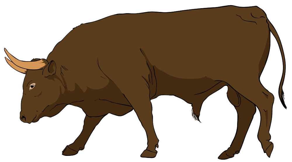 Ox clipart mad bull. Cow and clip art