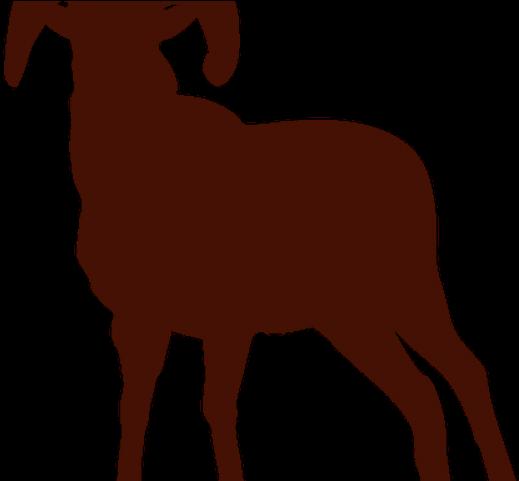 Billy transparent cartoon jing. Goat clipart evil