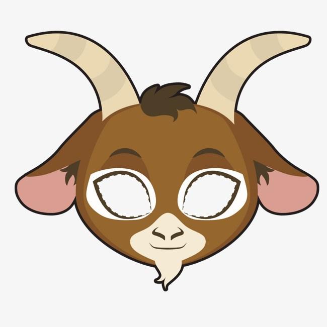 Goat clipart goat mask. Portal