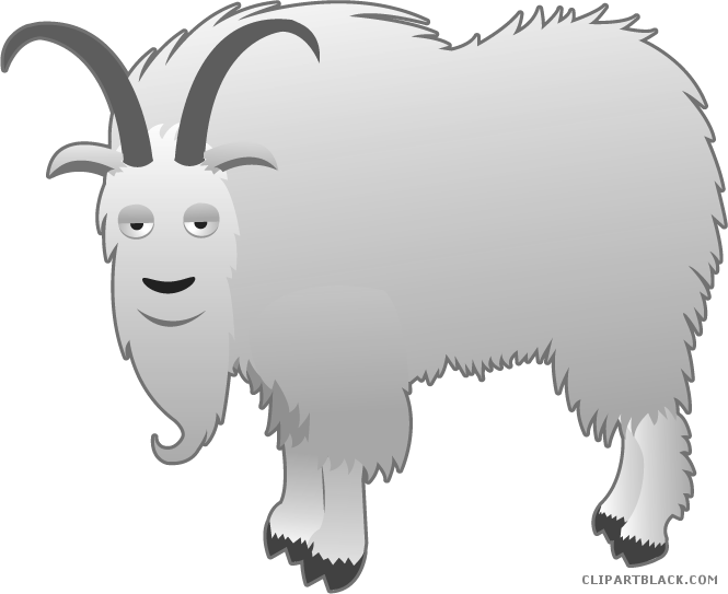 Page of clipartblack com. Goat clipart grey goat