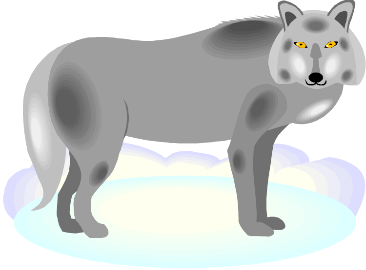 Wolves clipart cartoon. Free wolf